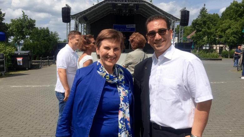 Mit unserer Bundestagsabgeordneten Claudia Lücking-Michel