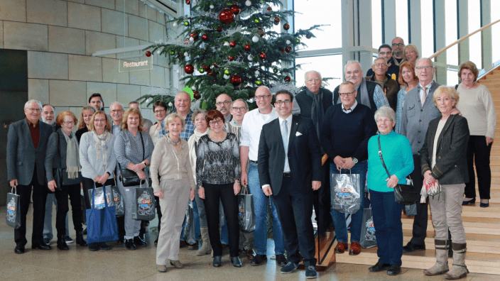 Besuchergruppe aus Bonn im Landtag NRW