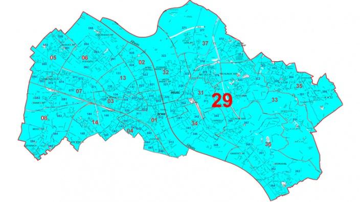 Wahlkreis 29 Bonn I