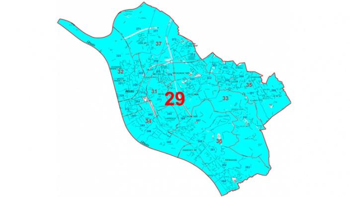 Wahlkreis 29 Bonn I: Stadtbezirk Beuel